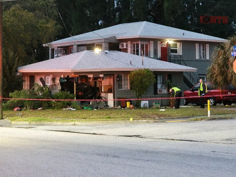 Multiple people seriously injured after vehicle crashes into Clearwater residence