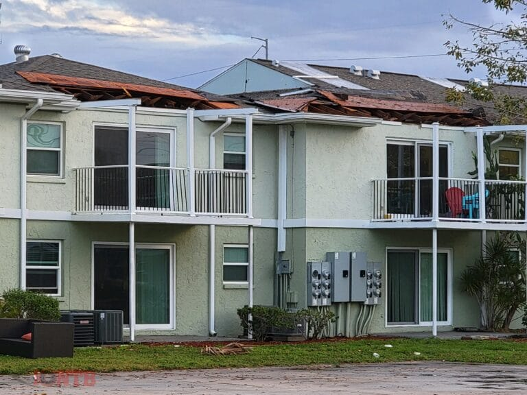 National Weather Service surveys damage from EF-0 tornado in Seminole