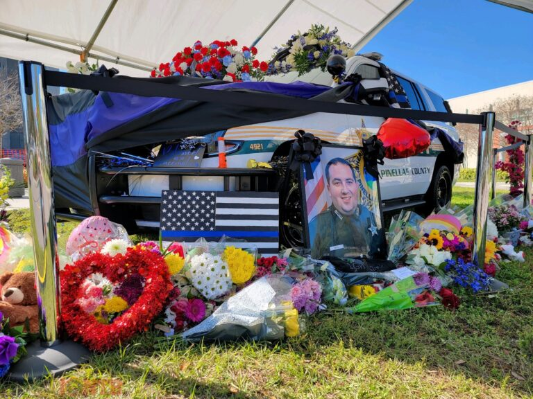 Funeral arrangements for the service of Deputy Michael J. Magli scheduled for Tuesday