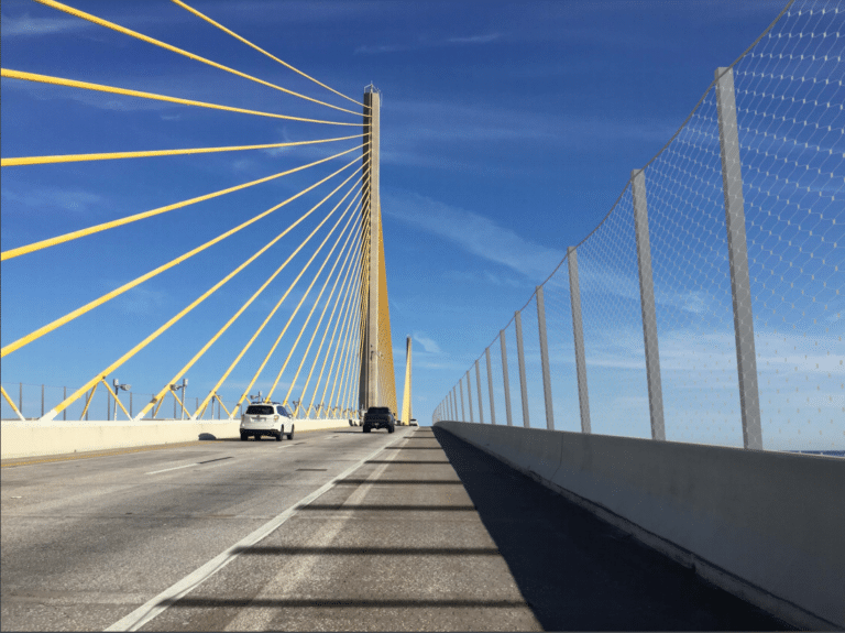 Teen survives jump from the Skyway Bridge as delays continue on the suicide barrier construction project