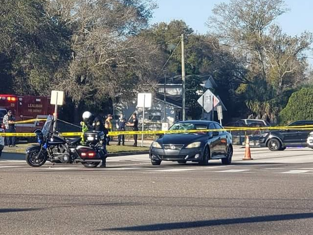 Pedestrian killed attempting to cross 38th Avenue N near 66th Street in St. Petersburg