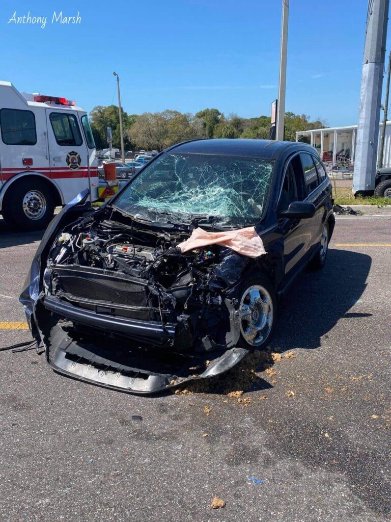 Three vehicle crash under investigation in Palm Harbor