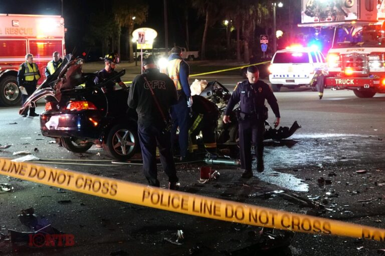 Crash seriously injures three on Gulf to Bay Boulevard in Clearwater