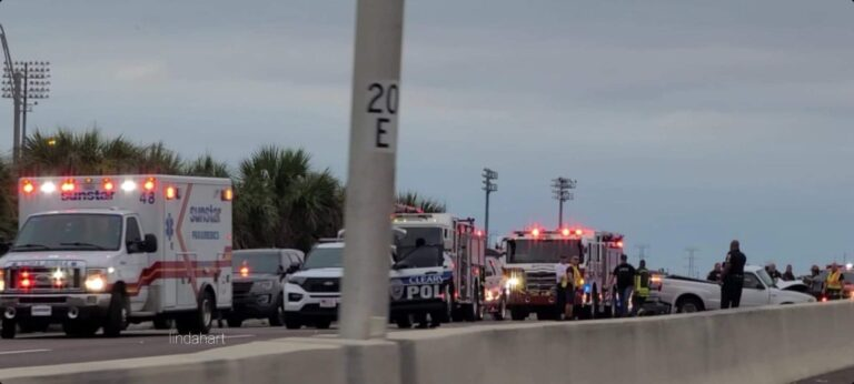 Clearwater Police investigating critical injury crash on US-19 at Drew Street