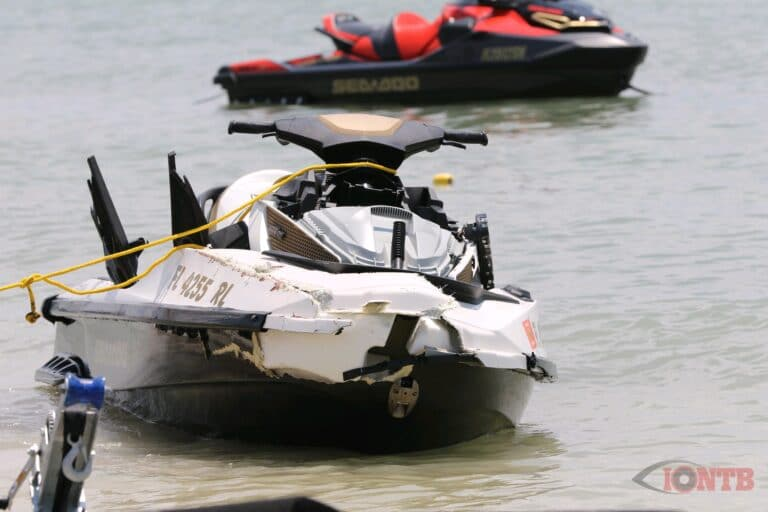 Jet ski operator dead following a collision with a boat near the Dunedin Causeway
