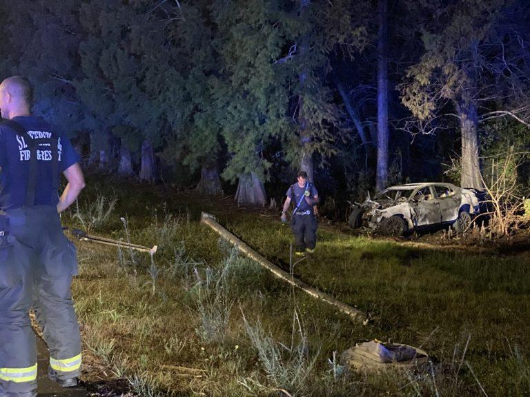 Fatal fiery crash on I-275 south of Gandy Boulevard