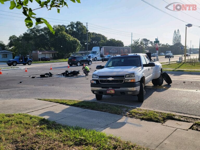 St. Petersburg motorcyclist dead in crash on Park Boulevard at 84th Lane