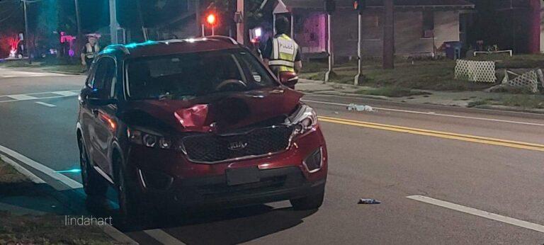 Pedestrian critically injured in crash on Drew Street in Clearwater