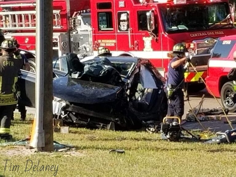 St. Petersburg Police investigate fatal crash at 49th Street and 4th Avenue N