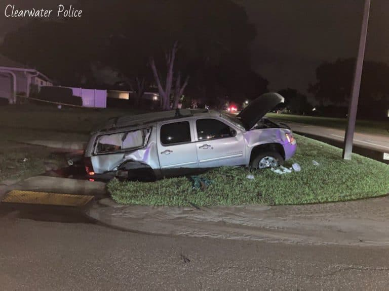 Driver seriously injured in crash on Landmark Drive in Clearwater