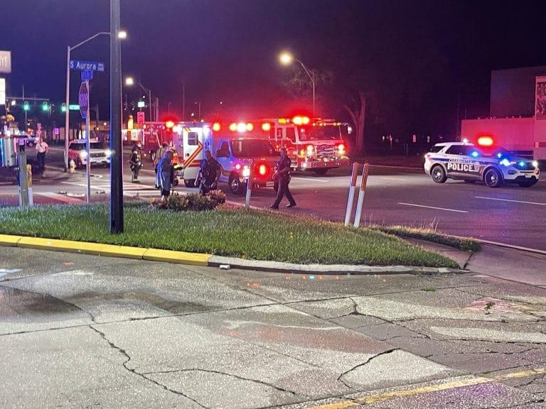 Pedestrian critically injured crossing Gulf to Bay Boulevard