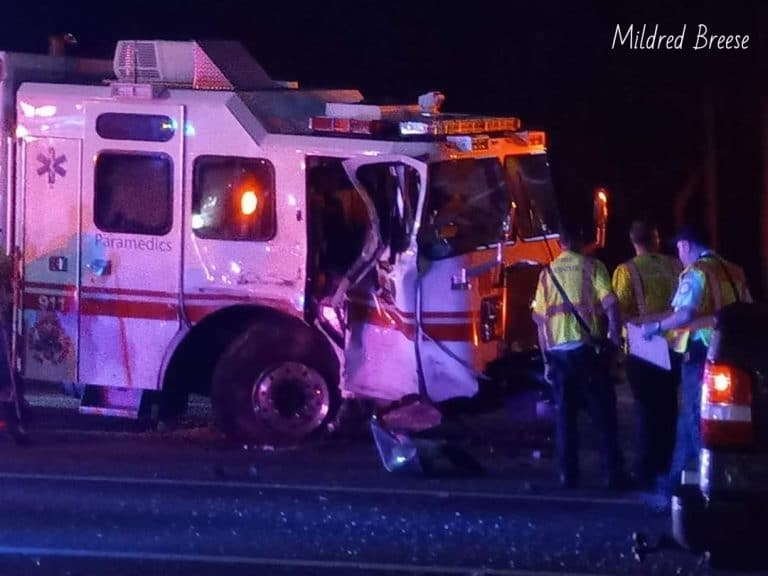 Firefighter struck and injured while on-scene of a vehicle crash in Palm Harbor