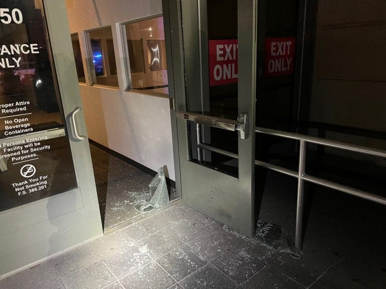 Two subjects in custody after burglarizing the Pinellas County Justice Center