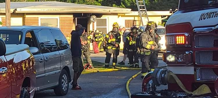 Man died after firefighters rescue him from burning home in Clearwater